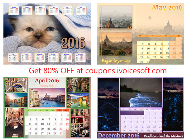 Photo Calendar Creator PRO coupon code