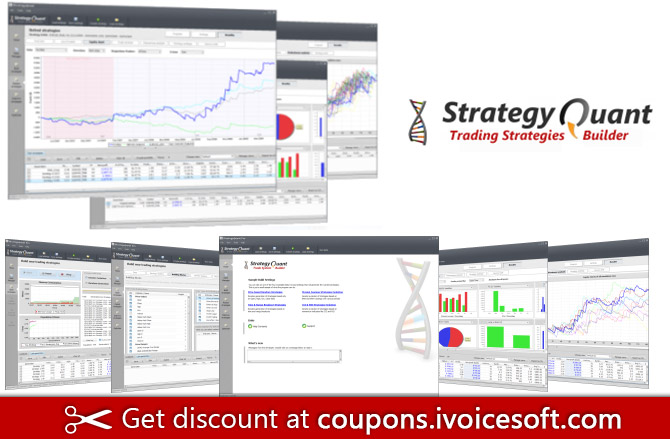 StrategyQuant Pro Coupon code