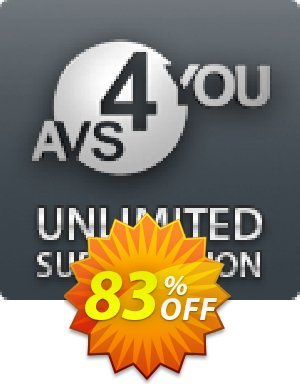 AVS4YOU Unlimited Subscription Coupon BOX