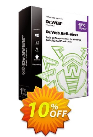 Dr.Web Anti-Virus Coupon BOX