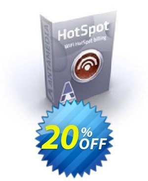 Special Bundle - Antamedia HotSpot - Premium Edition & HotSpot Operator License & Credit Card Suppor Coupon BOX