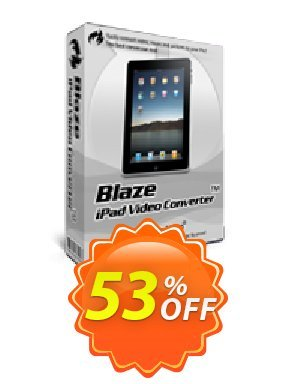 BlazeVideo iPad Video Converter Coupon BOX