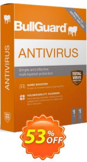 BullGuard 2018 Antivirus - 1 year / 1 PC Coupon BOX