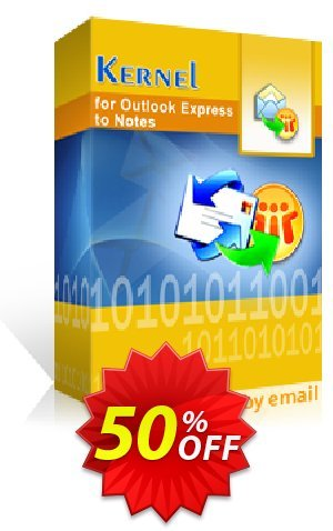 Kernel for Outlook Express to Notes - Technician License Coupon BOX