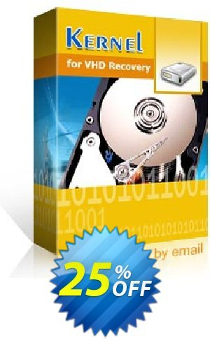 Kernel for Virtual Disk Recovery - Home User Coupon BOX