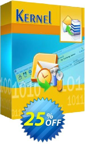 Kernel for GroupWise to Exchange ( License for (1- 200) Mailboxes ) Coupon BOX