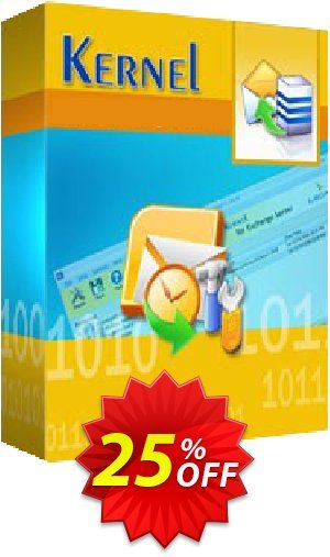 Kernel for GroupWise to Exchange ( License for (200 - 500) Mailboxes ) Coupon BOX