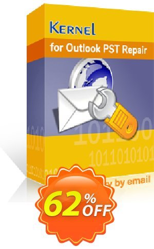 Kernel for Outlook PST Repair ( Technician License ) - Special Offer Price Coupon BOX
