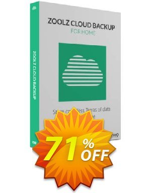 Zoolz Cloud Backup for Home 1TB - FAMILY Coupon BOX