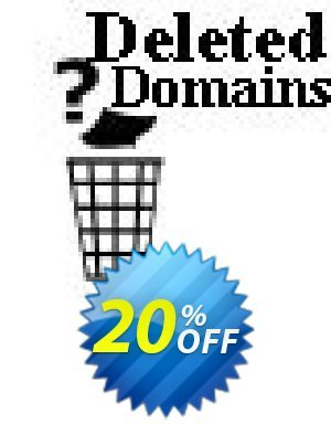 Deleted Domains Checker Script Coupon BOX