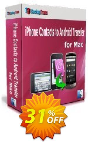 Backuptrans iPhone Contacts Backup & Restore for Mac (Business Edition) Coupon BOX