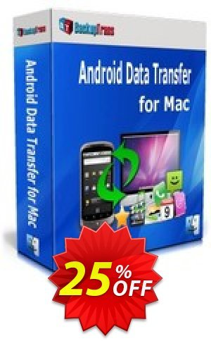 Backuptrans Android Data Transfer for Mac (Family Edition) Coupon BOX
