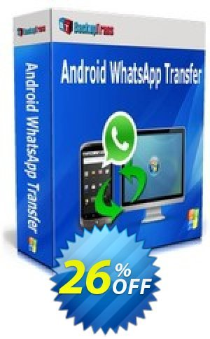 Backuptrans Android WhatsApp Transfer(Family Edition) Coupon BOX