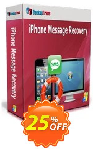Backuptrans iPhone Message Recovery (Business Edition) Coupon BOX
