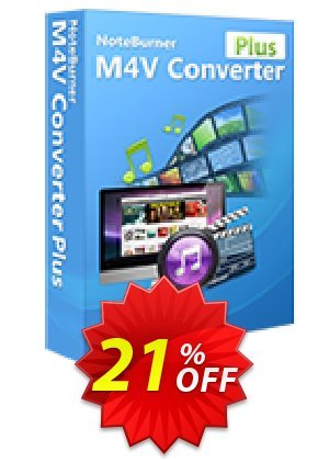 NoteBurner M4V Converter Plus for Windows Coupon BOX