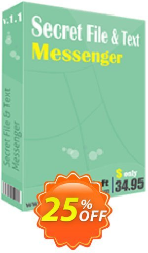 Secret File and Text Messenger Coupon BOX
