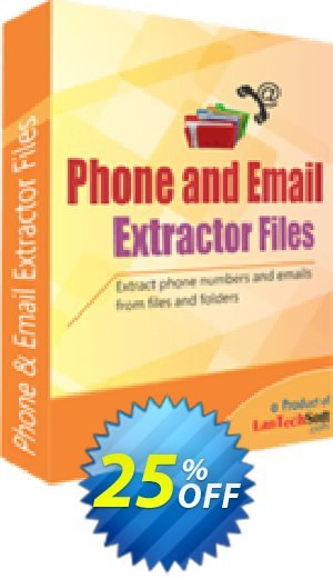 Phone and Email Extractor Files Coupon BOX