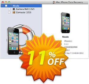 Mac iPhone Data Recovery Coupon BOX
