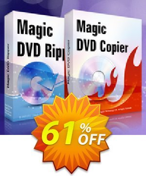 Magic DVD Ripper + Magic DVD Copier Full License - Lifetime Upgrades Coupon BOX