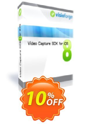 Video Capture SDK for iOS - One Developer Coupon BOX