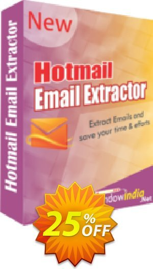 Hotmail Email Extractor Coupon BOX