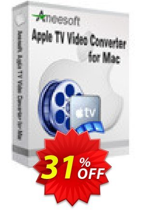 Aneesoft Apple TV Video Converter for Mac Coupon BOX