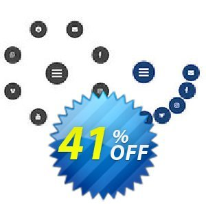 Radial Icon Menu Extension for WYSIWYG Web Builder Coupon BOX