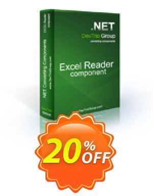 Excel Reader .NET - Source Code License Coupon BOX