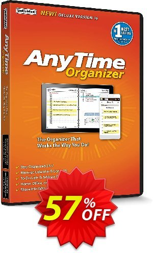 AnyTime Organizer Deluxe 16 Coupon BOX