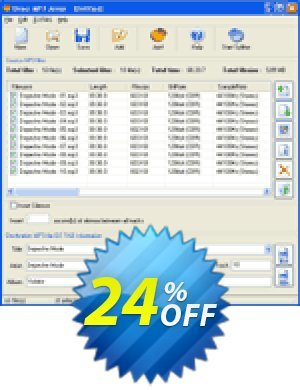 Pistonsoft Direct MP3 Joiner Coupon BOX