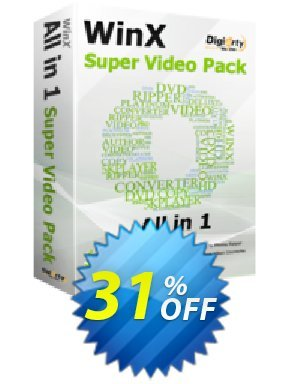 WinX Super Video Pack Coupon BOX