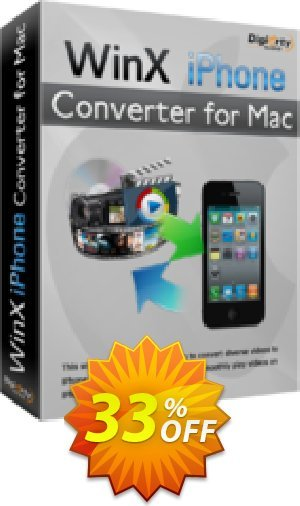 WinX iPhone Converter for Mac Coupon BOX