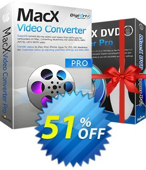 MacX Video Converter Pro Lifetime Coupon BOX