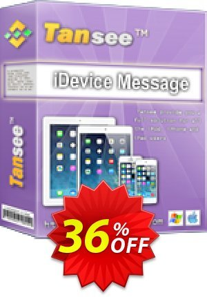 Tansee iOS Message Transfer (3-years) Coupon BOX