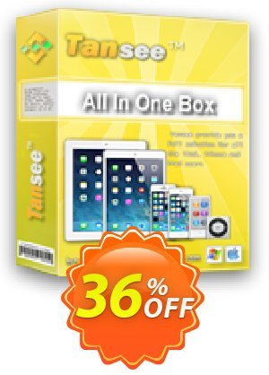 Tansee All in One Box - 3 years Coupon BOX