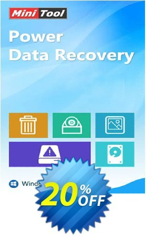 MiniTool Power Data Recovery - Business Standard Coupon BOX