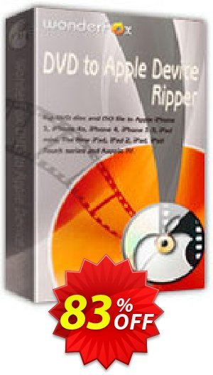WonderFox DVD to Apple Device Ripper Coupon BOX