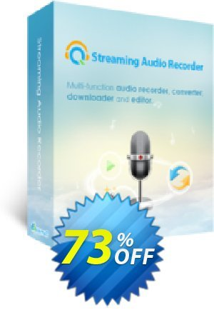 Streaming Audio Recorder Lifetime Coupon BOX