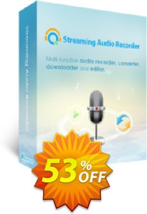 Streaming Audio Recorder Business Yearly Coupon BOX