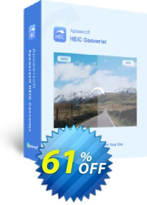HEIC Converter Personal License (Lifetime Subscription) Coupon BOX