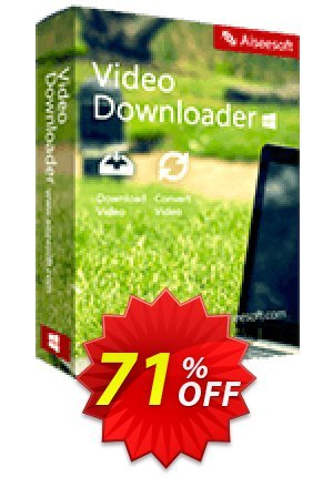 Aiseesoft Video Downloader Coupon BOX