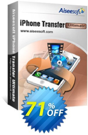 Aiseesoft iPhone Transfer Ultimate Coupon BOX