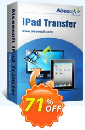 Aiseesoft iPad Transfer Ultimate Coupon BOX