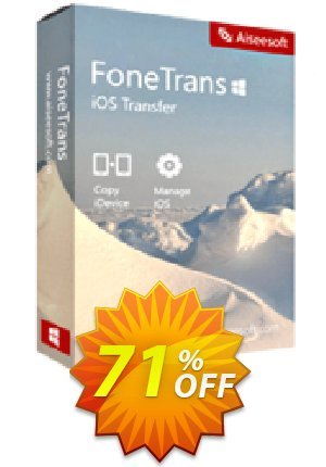 FoneTrans Coupon BOX