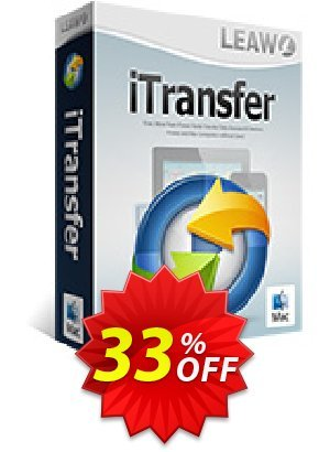 Leawo iTransfer for Mac Lifetime Coupon BOX