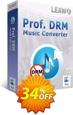 Leawo Prof. DRM Music Converter For Mac Coupon BOX