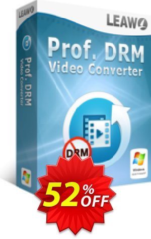 Leawo Prof. DRM Video Converter Coupon BOX