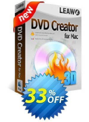 Leawo DVD Creator for Mac Coupon BOX