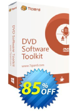 Tipard DVD Software Toolkit Lifetime License Coupon BOX