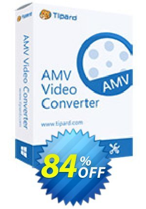 Tipard AMV Video Converter for Mac Coupon BOX